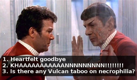 The 3N version of Spock's death