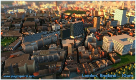 Project: MyWorld - London, England at 10AM