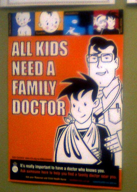 """All kids need a family doctor"""