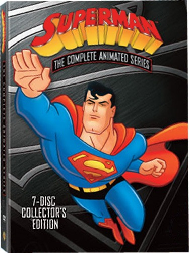 Cover art for Superman: The complete animated series