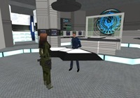 CIC on the Battlestar Pacifica