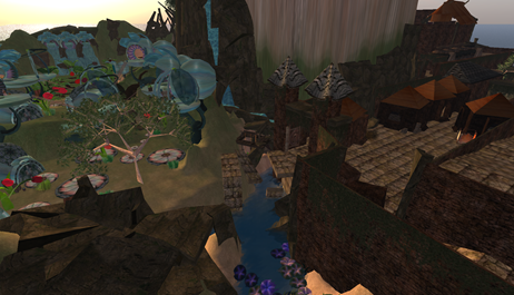 Numbakulla in Second Life, today.